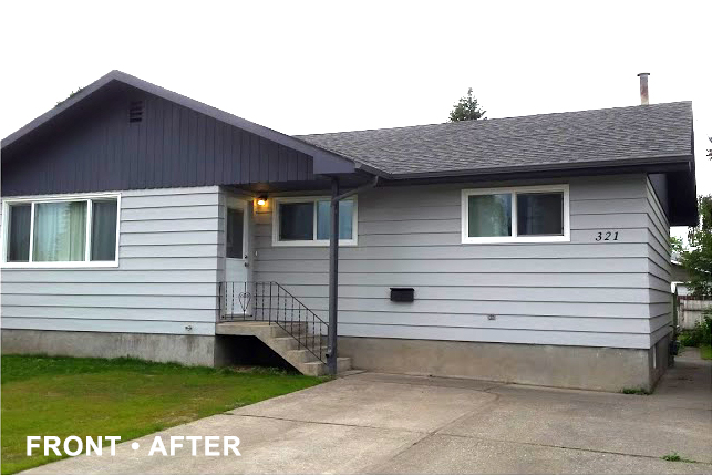 House renovation before photo